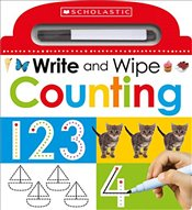 Write and Wipe: Counting: 3 (Scholastic Early Learners) - Scholastic,