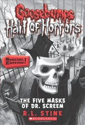 Five Masks of Dr. Screem (Goosebumps Hall of Horrors) - Stine, R L