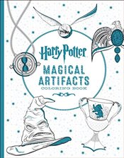 Harry Potter Artifacts Coloring Book - Scholastic,