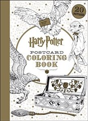 Harry Potter Postcard Coloring Book - Scholastic,