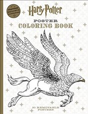 Harry Potter Poster Coloring Book - Scholastic,