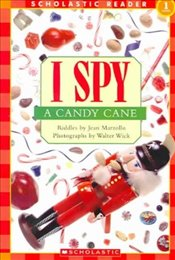 SCHOLASTIC READER LEVEL 1: I SPY A CANDY CANE - Marzollo, Jean