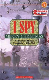 I Spy Merry Christmas: I Spy Santa Claus/I Spy a Candy Cane (Scholastic Reader: Level 1) - Marzollo, Jean