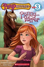 Pony Mysteries: Penny and Pepper (Scholastic Readers) - Betancourt, Jeanne