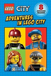 Lego City : Adventures in Lego City (Reader Boxed Set) - Scholastic,