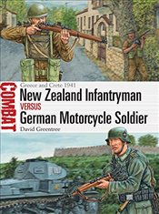 New Zealand Infantryman vs German Motorcycle Soldier : Greece and Crete 1941  - Greentree, David