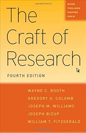 Craft of Research 4e - Booth, Wayne C.