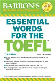 Essential Words for the TOEFL 7e - Matthiesen, Steven