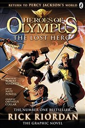 Lost Hero: The Graphic Novel (Heroes of Olympus Book 1) (Heroes of Olympus Graphic Novels) - Riordan, Rick