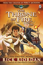 Throne of Fire : Kane Chronicles Graphic Novels - Riordan, Rick
