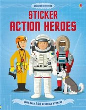 Sticker Action Heroes - Cullis, Megan