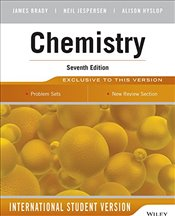 Chemistry 7e ISE : The Molecular Nature of Matter - BRADY, JAMES E.