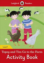 Topsy and Tim: Go to the Farm Activity Book - Ladybird Readers Level 1 - Ladybird,