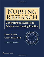 Nursing Research: Generating and Assessing Evidence for Nursing Practice (International Edition) - Polit, Denise F.