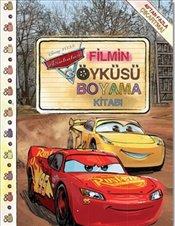 Pandora Arabalar şimşek Mcqueen Boyama Kitabı Neşeli Yüzler