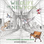 Wildlife of New York : A Five-Borough Coloring Book - Connors, Shannon Lee