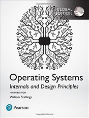 Operating Systems 9e Revised : Internals and Design Principles - Stallings, William