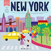 New York: A Book of Colors (Hello, World) - Evanson, Ashley