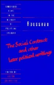 Social Contract and Other Later Political Writings Volume : 2 - Rousseau, Jean-Jacques