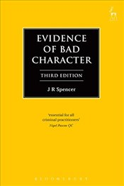 Evidence of Bad Character (Criminal Law Library) - Spencer, JR