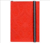 Christian Lacroix A6 Paseo Embossed Notebook Scarlet - Lacroix, Christian