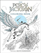 Percy Jackson and the Olympians the Percy Jackson Coloring Book   - Riordan, Rick