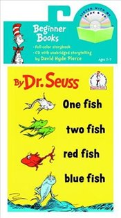One Fish, Two Fish, Red Fish, Blue Fish Book & CD (Book and CD) - Seuss, Dr.