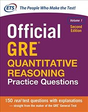 Official GRE Quantitative Reasoning Practice Questions, Volume 1 - ETS