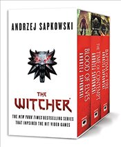 Witcher Boxed Set : Blood of Elves, the Time of Contempt, Baptism of Fire - Sapkowski, Andrzej