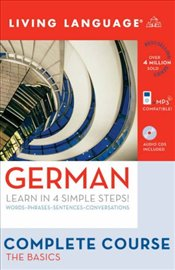 German: The Basics (Living Language Complete Course) - Language, Living