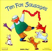 Ten Fat Sausages (Classic Books with Holes Soft Cover) -