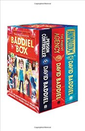 Blockbuster Baddiel Box : The Parent Agency, The Person Controller, AniMalcolm - Baddiel, David