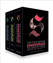 New Oxford Shakespeare: Complete Set: Modern Critical Edition, Critical Reference Edition, Authorshi - Shakespeare, William