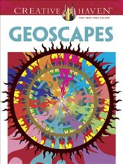 Creative Haven Geoscapes Coloring Book (Creative Haven Coloring Books) - Hop, David