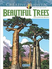 Creative Haven Beautiful Trees Coloring Book (Adult Coloring) - Foley, Tim