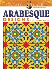 Creative Haven Alhambra Designs Coloring Book (Creative Haven Coloring Books) - Crossling, Nick