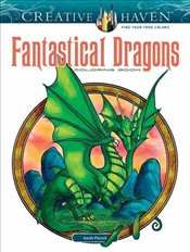 Creative Haven Fantastical Dragons Coloring Book (Adult Coloring) - Pocock, Aaron