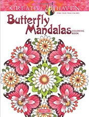 Creative Haven Butterfly Mandalas Coloring Book (Adult Coloring) - Gaspas-Ettl, Dianne