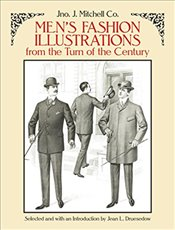 Mens Fashion Illustrations from the Turn of the Century (Dover Fashion and Costumes) - Co., Mitchell
