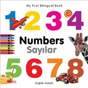 My First Bilingual Book - Numbers - English-Turkish (My First Bilingual Books) - Milet,