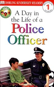 DK Readers L1: Jobs People Do: A Day in the Life of a Police Officer (DK Readers: Level 1) - Hayward, Linda