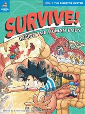 Survive! Inside the Human Body, Vol. 1: The Digestive System - co., Gomdori