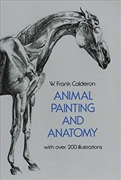 Animal Painting and Anatomy (Dover Anatomy for Artists) - Calderon, Frank