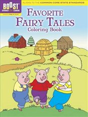 BOOST Favorite Fairy Tales Coloring Book (BOOST Educational Series) - Newman-DAmico, Fran