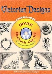 Victorian Designs (Dover Electronic Clip Art) - Inc, Dover Publications