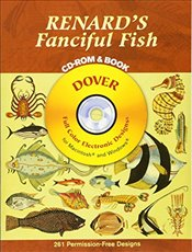 Renards Fanciful Fish CD Rom and Bk (Dover Electronic Clip Art) - Renard, Louis