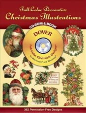Decorative Christmas Illustrations (Dover Electronic Clip Art) - Inc, Dover Publications