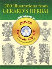 200 Illustrations from Gerards Herbal (Dover Electronic Clip Art) - Gerard, John