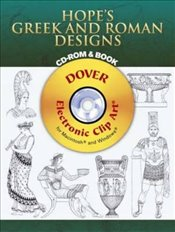 Hopes Greek and Roman Designs (Dover Electronic Clip Art) - Hope, Thomas