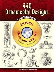 440 Ornamental Designs (Dover Electronic Clip Art) - Inc, Dover Publications